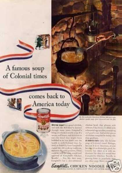 Campbell's Chicken Noodle Soup (1941)