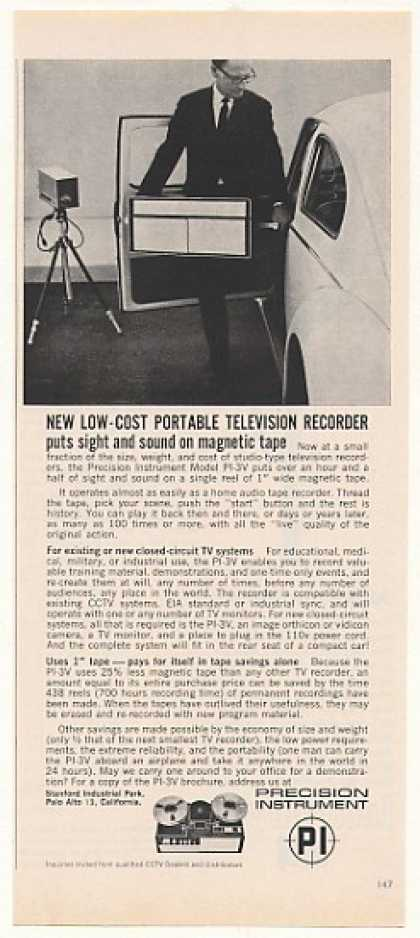 Precision Instrument PI-3V Portable TV Recorder (1963)