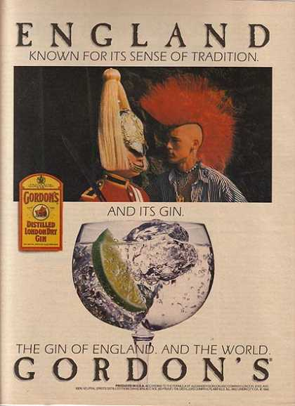 Gordon's Distilled London Dry Gin (1989)