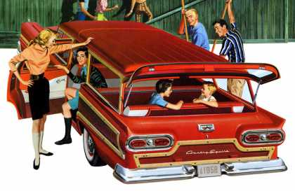 Ford Country Squire (1958)