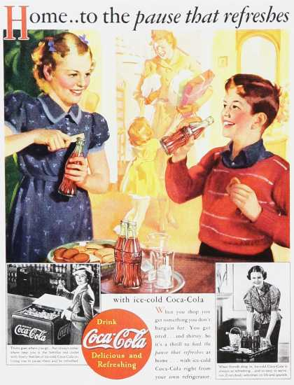 Coca-Cola – The pause tha refreshes