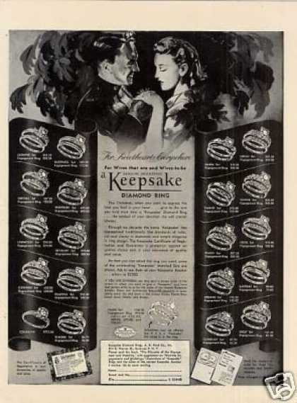 Keepsake Diamond Rings (1943)