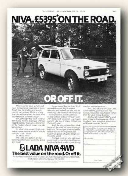 Lada Niva 4wd Photo Uk (1983)