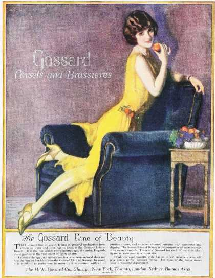 Gossard Corsets and Brassieres