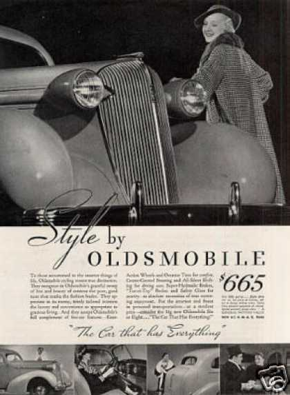 Oldsmobile Car (1936)