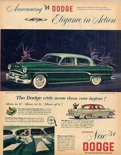 Dodge Royal 4-door Sedan (1954)