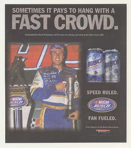 NASCAR David Reutimann Sam's Town 250 Win Busch (2007)