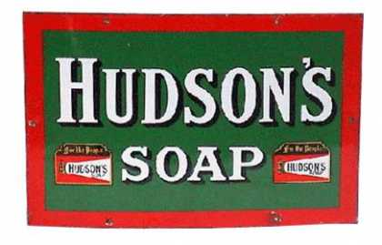 Hudson's Soap 'For The People' Sign