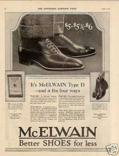 Mcelwain Shoes (1921)