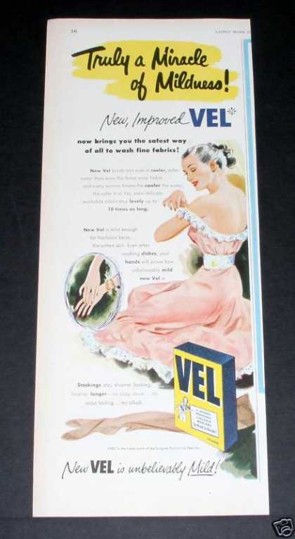 Old , Vel Soap, Unbelievab (1951)
