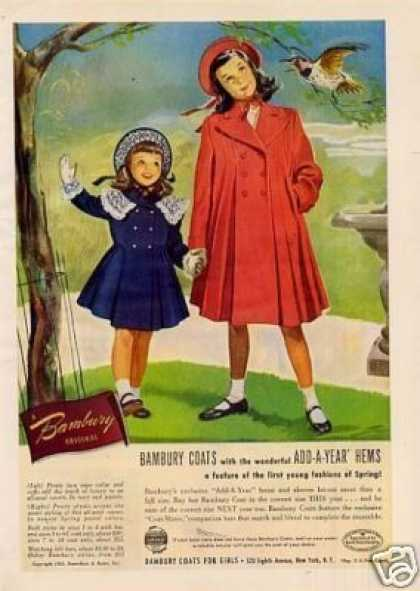 Bambury Girls Coats (1950)