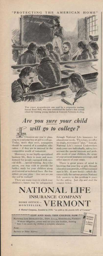 National Life Insurance Vermont (1946)