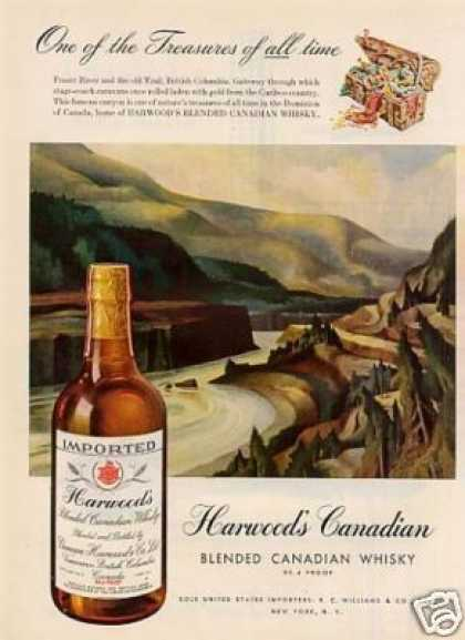 Harwood's Canadian Whiskey (1947)