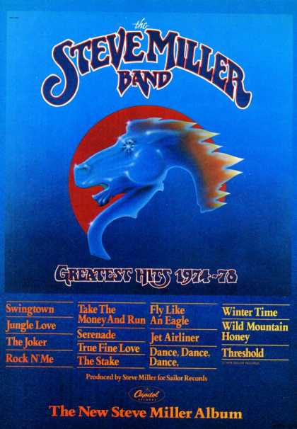Capitol Record's Steve Miller Band (1979)