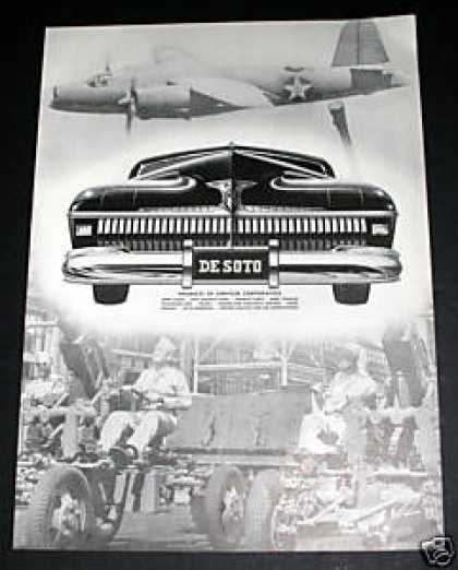 Desota Wwii Production Suport Ad, Exc (1941)