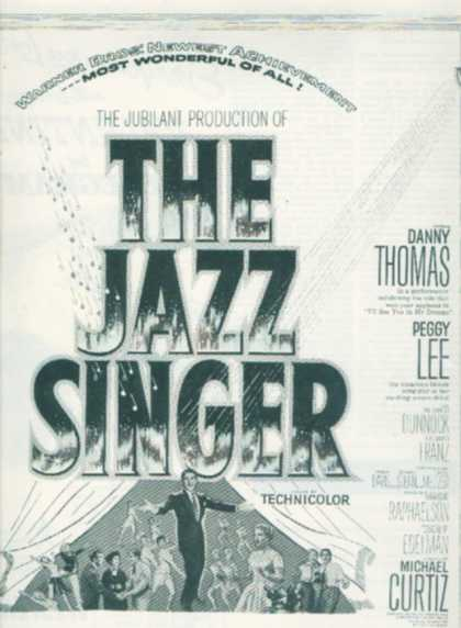 The Jazz Singer (Danny Thomas and Peggy Lee) (1953)