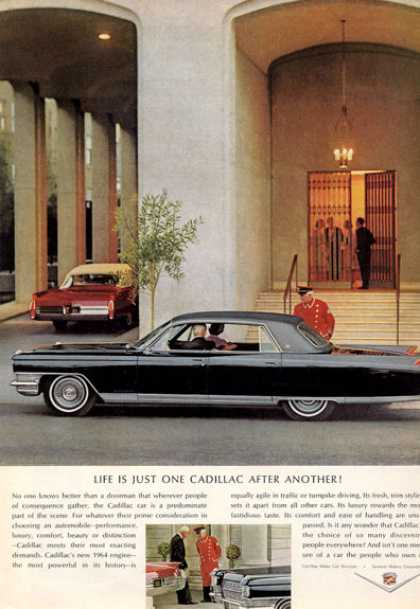 Cadillac Sedan and Convertible (1964)