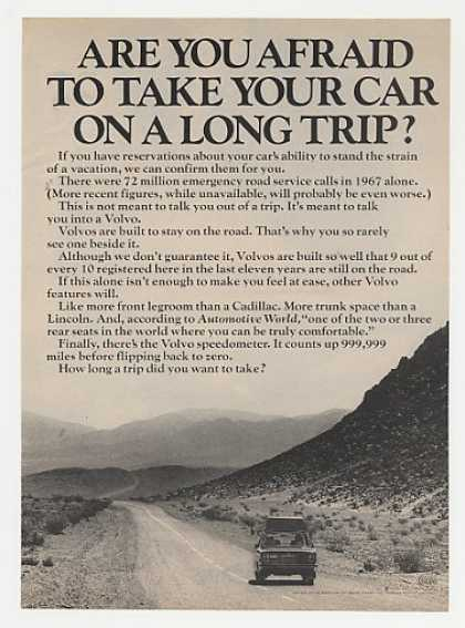 Afraid to Take Car on Long Trip? Volvo (1970)