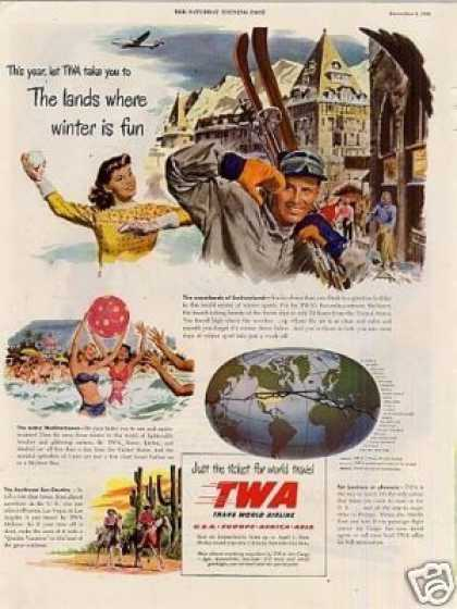 "Twa Ad ""The Lands Where Winter... (1948)"