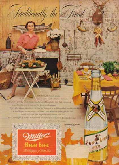 Miller High Life Beer – Indian Summer (1951)