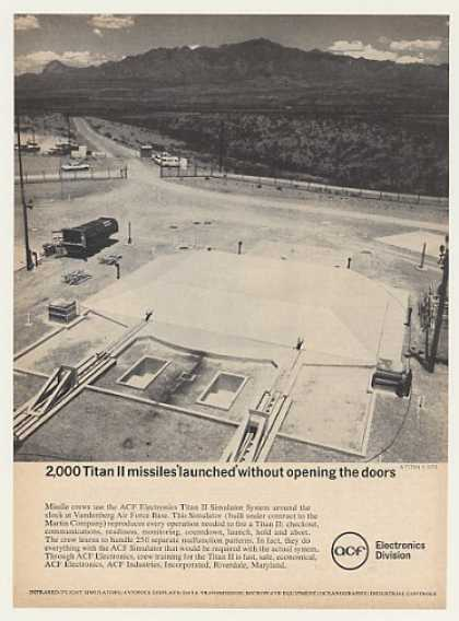 Titan II Missile Launch Site ACF Electronics (1964)