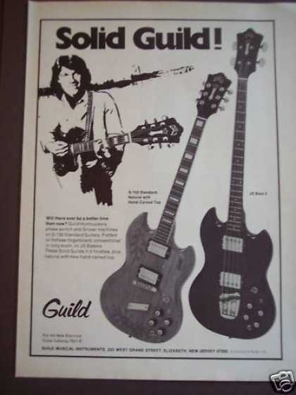 Guild S-100 Standard Guitars Music (1975)