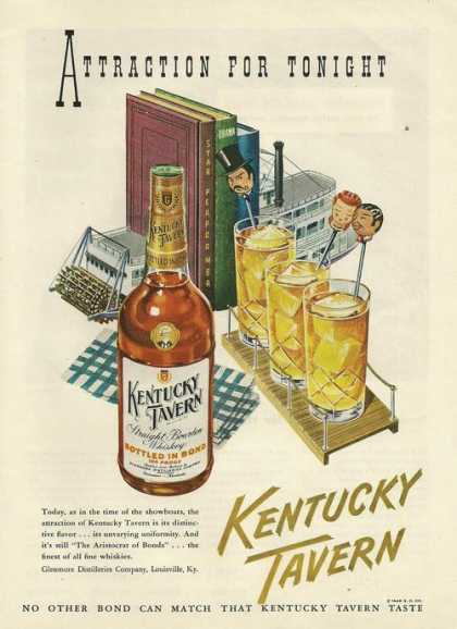Attraction for Tonight Kentucky Tavern (1948)