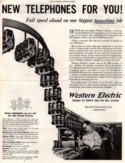 Western Electric's Telephones – New Telephones for You (1945)