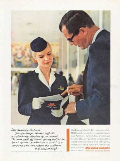 American Airlines Passenger Service Rep (1961)