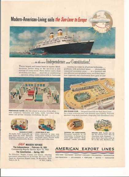 American Export Cruise Lines (1951)
