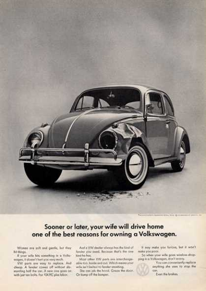 Volkswagen Vw Broken Bug (1964)