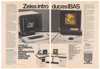 Zeiss IBAS Image Analysis Computer System (1982)