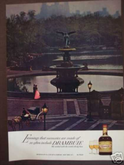 Scottish Fountain Drambuie Cordial Liqueur (1970)