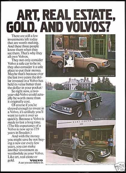 Volvo 3 Car Photo Another Investment (1980)