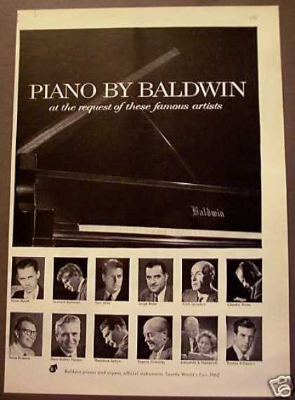 Piano By Baldwin Music Leonard Bernstein (1962)