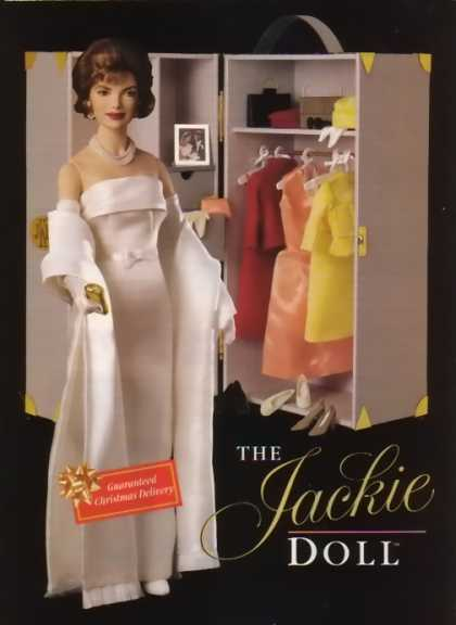 Jacqueline Kennedy Holiday Doll (1998)