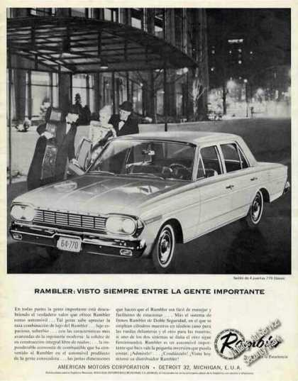 Rambler 770 Classic Photo Spanish Language (1964)