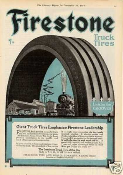 Firestone Tire Color (1917)