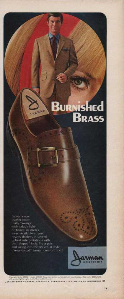 Jarman Burnished Brass Shoes for Men (1969)