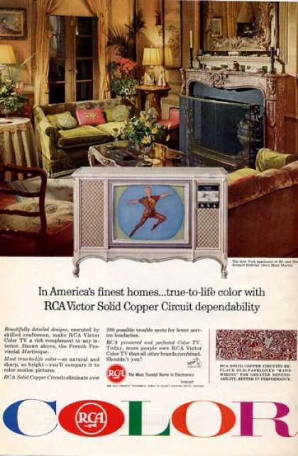 Rca Color Tv the Halliday's Mary Martin (1965)