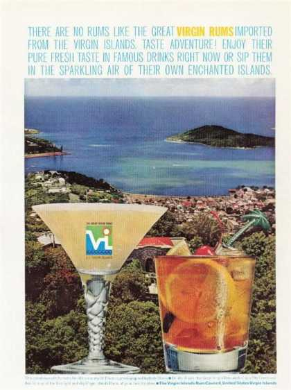Virgin Rum Virgin Islands (1963)