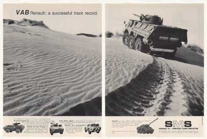 SMS Renault VAB All Terrain Military Vehicle 2P (1989)