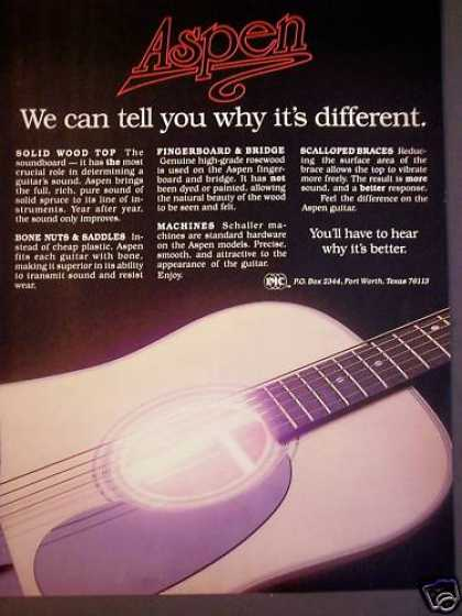 Aspen Guitars Music (1987)