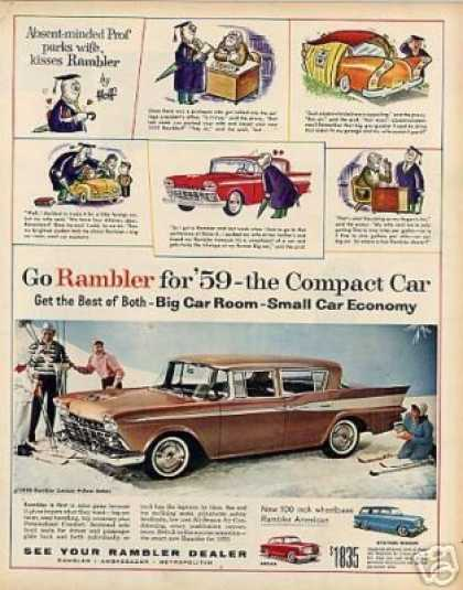 Rambler Custom 4-door Sedan (1959)