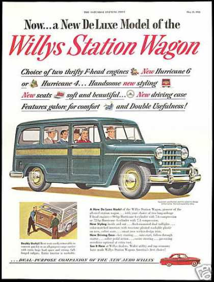 Willys Station Wagon Vintage (1952)