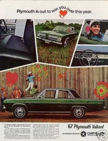 Plymouth Valiant Car (1967)