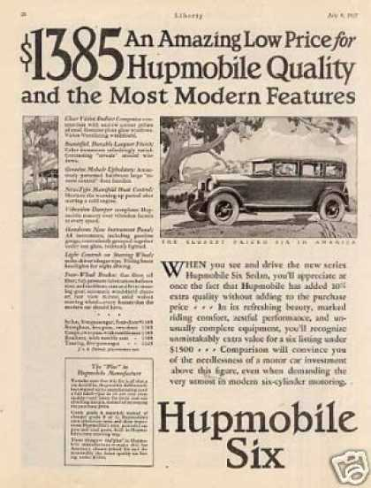 Hupmobile Six Car (1927)
