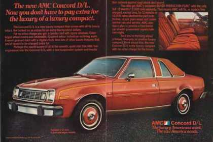 AMC Concord D/L Car – Red 2 Door (1977)