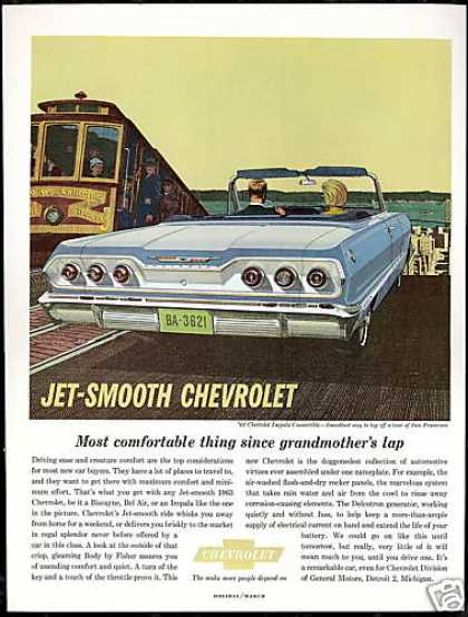 Chevrolet Impala Convertible San Francisco Car (1963)