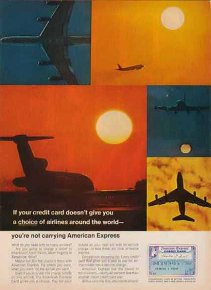 American Express – Choice of Airlines – Sold (1967)